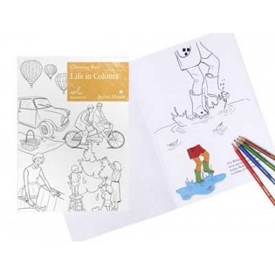 Life in Colours Colouring Book