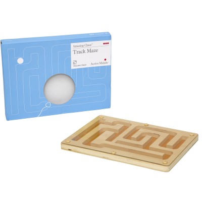 Wooden Track Maze Game