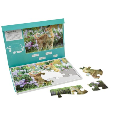 13 Piece Jigsaw - Curious Cat