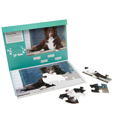 13 Piece Jigsaw - Sheep Dog