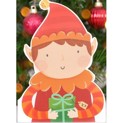 Elf Christmas card 3 packs
