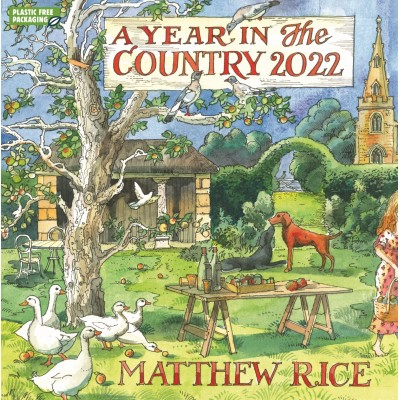 Mathew Rice A Year in the Country Wall Calendar 2022