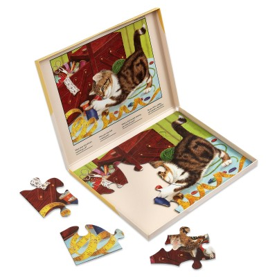 13 Piece Jigsaw Puzzle - Life of a kitten