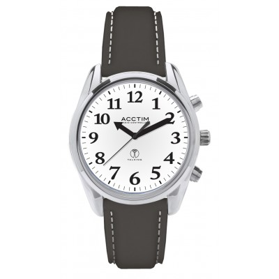 Talking Radio Controlled Watch - Leather Strap