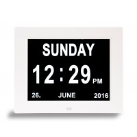 Dual Display Digital Clock - 7 Inch