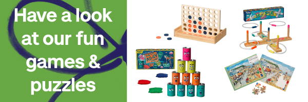 Shop games and activities
