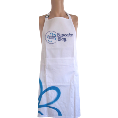 Cupcake Day Apron - Blue