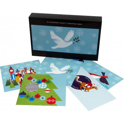 25 Alzheimer's Society Christmas Cards