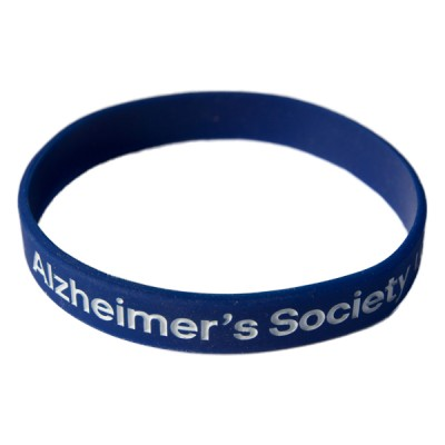 Branded wristband - dark blue