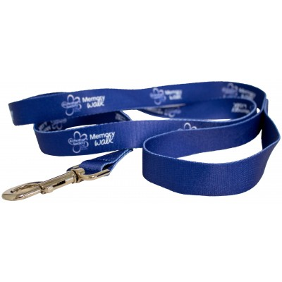 Memory Walk dog lead - blue