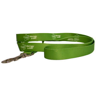 Memory Walk dog lead - green
