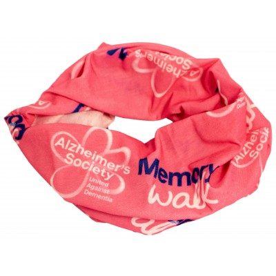 Memory Walk dog scarf - pink