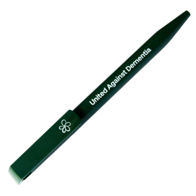 Alzheimer's Society dark green pen