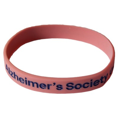Branded wristband - pink