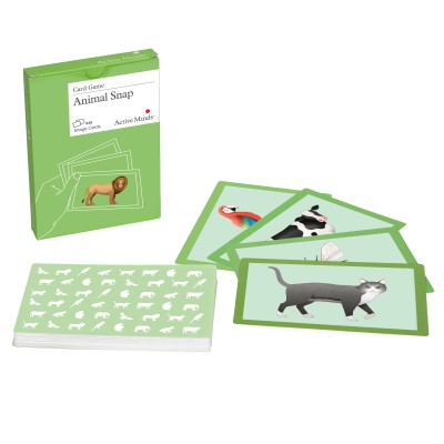 Animal Snap Card Set