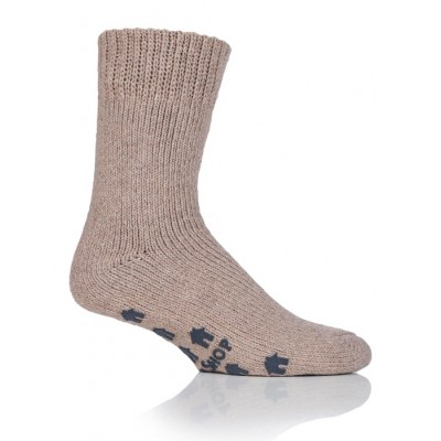Alan slipper socks - oatmeal