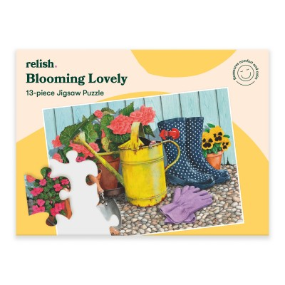 13 Piece Jigsaw Puzzle - Blooming Lovely