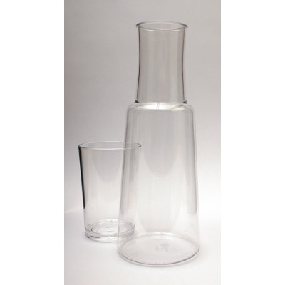 Unbreakable Carafe and Tumbler