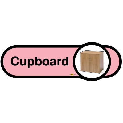Cupboard Sign