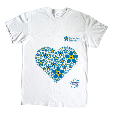 Dementia Friends Heart T-shirt