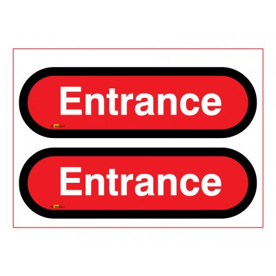 Entrance Signs