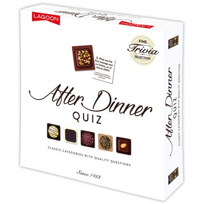Chocolate box after dinner quiz