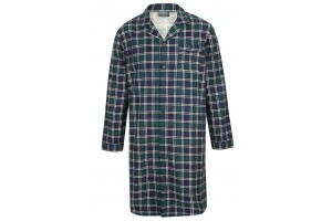John nightshirt - green check