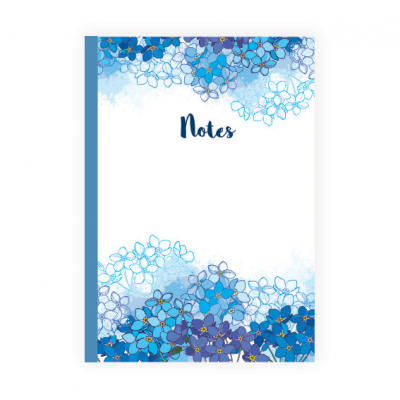 Forget-me-not A5  notebook