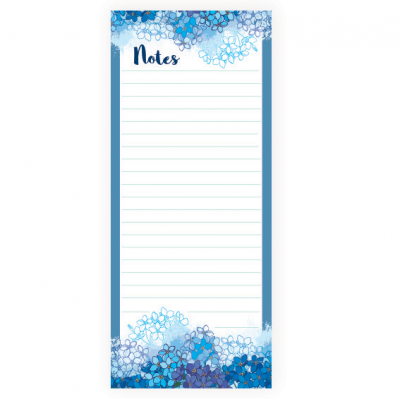 Forget-me-not magnetic memo pad