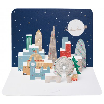 London Skyline Pop-up card