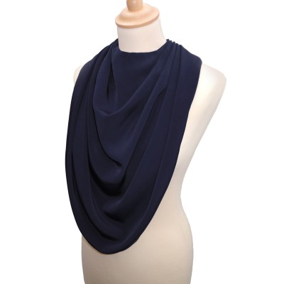 Pashmina Style Clothes Protector - Navy