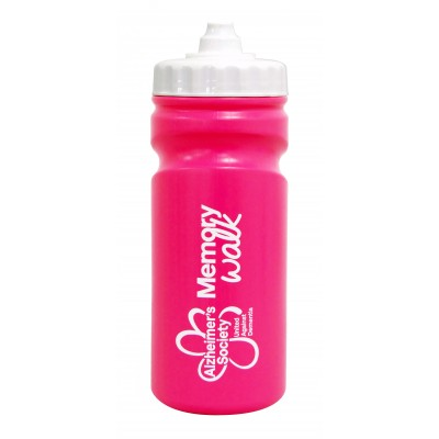 Memory Walk water bottle - pink