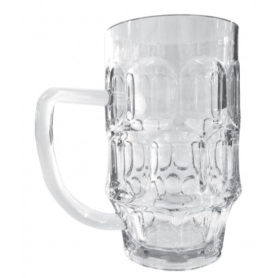 Unbreakable pint glass