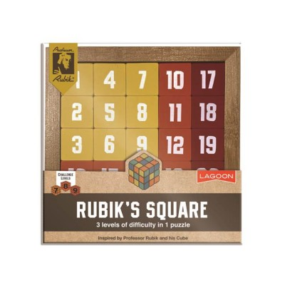 Rubik magic square puzzle