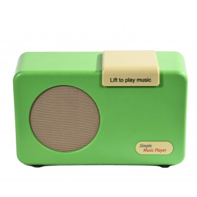 Simple Music Player Green Mark2