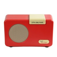 Simple Music Player Red Mark2