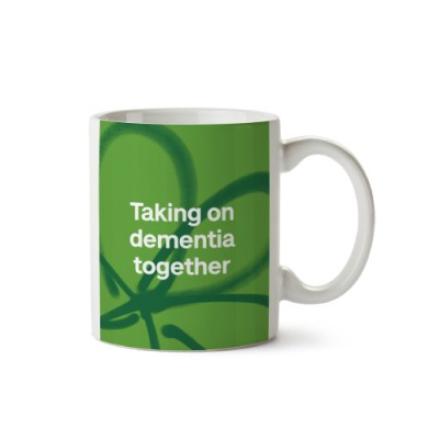 Taking on dementia together mug