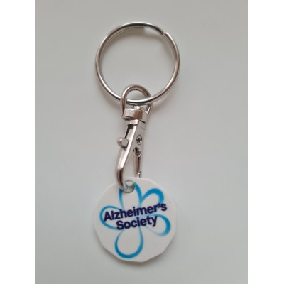 Recycled Trolley Token Keyring