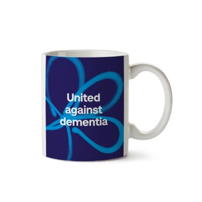 United against dementia mug