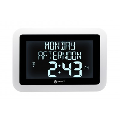 Radio controlled digital clock