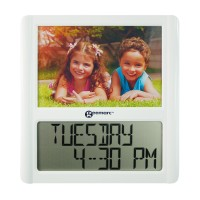 Digital Clock with Photo Frame
