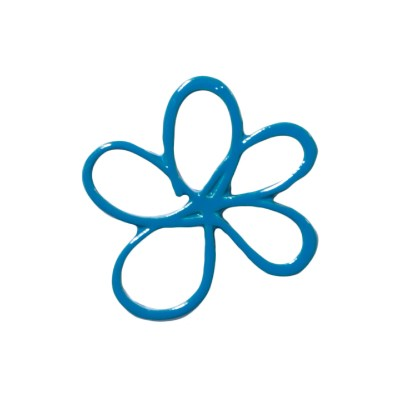 Forget-me-not pin badge x 10