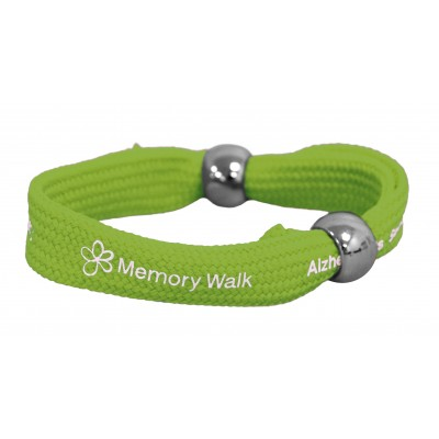 Memory Walk wristband - green