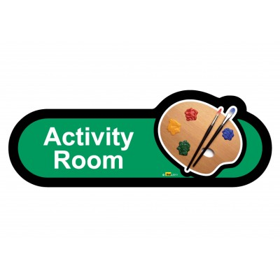 Activity Room Sign