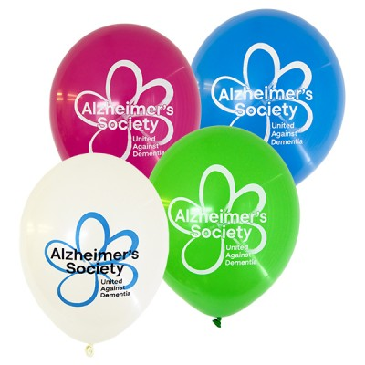 Multipack of 5 coloured balloons