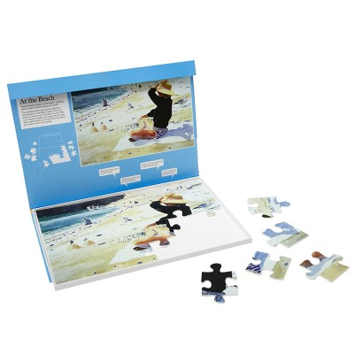 24 Piece Jigsaw - At the beach