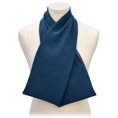 Cross Scarf Clothes Protector - Navy Blue