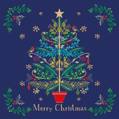 Christmas Tree Cards, Pack of 10