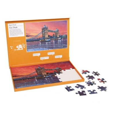63 Piece Jigsaw - City Dusk