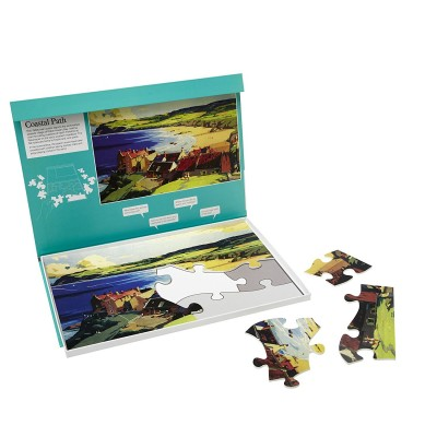 13 piece Jigsaw - Coastal path